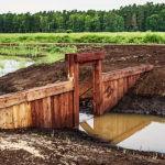 Olej lniany HMF - zabezpiecza budowle melioracyjne w KPN