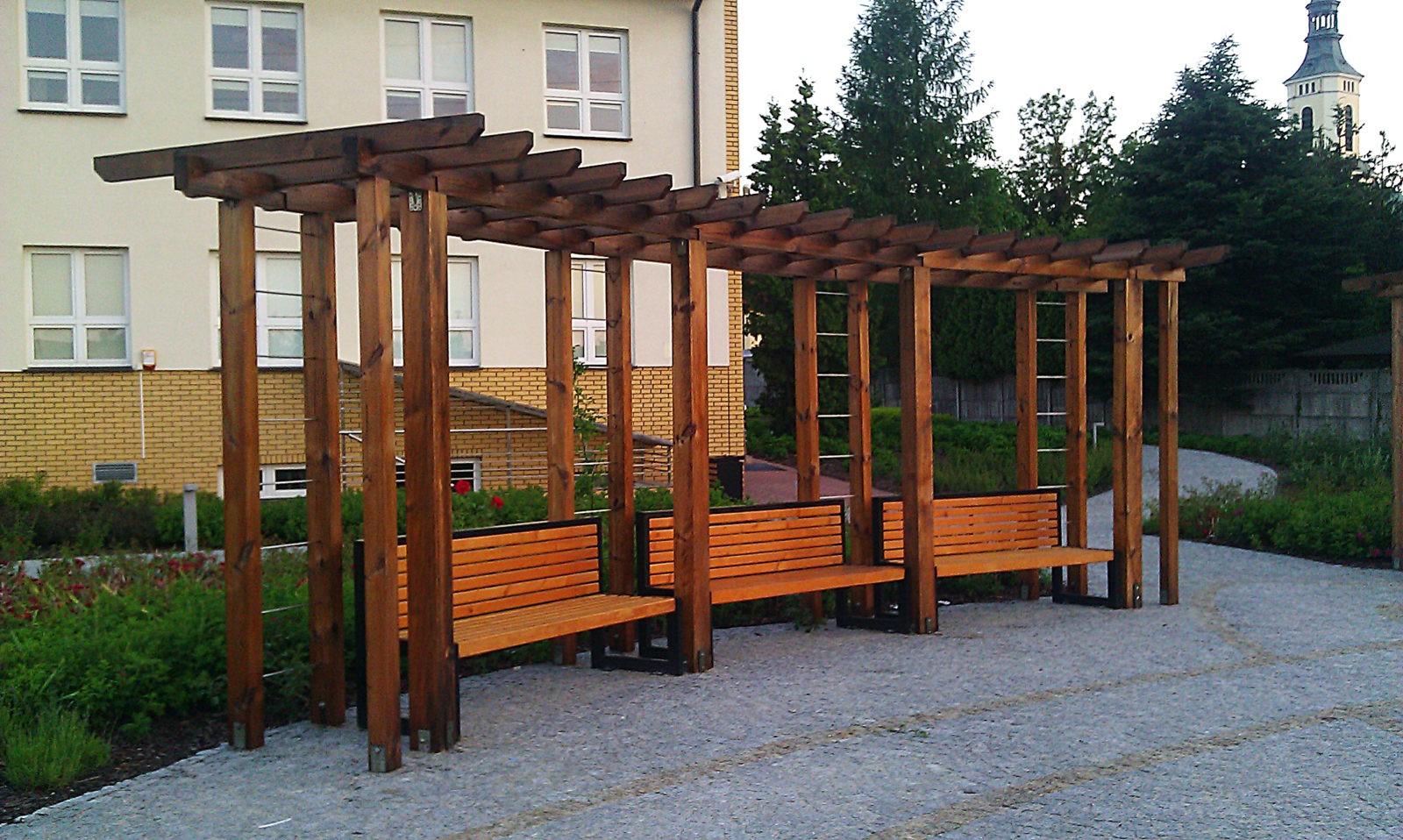 Pergola w Parku - Stare Babice