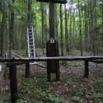 Konserwacja drewnianych Krzyży- Wigierski Park Narodowy.