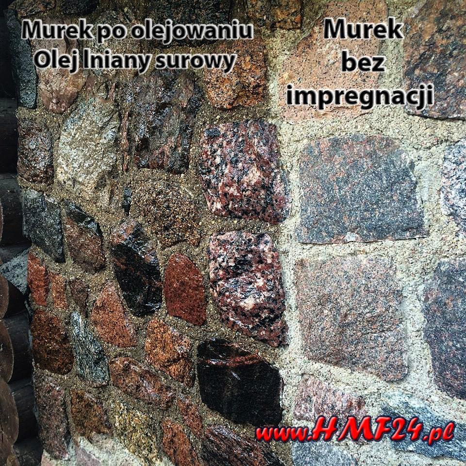 Impregnacja cegły, kamienia, fug i betonu.