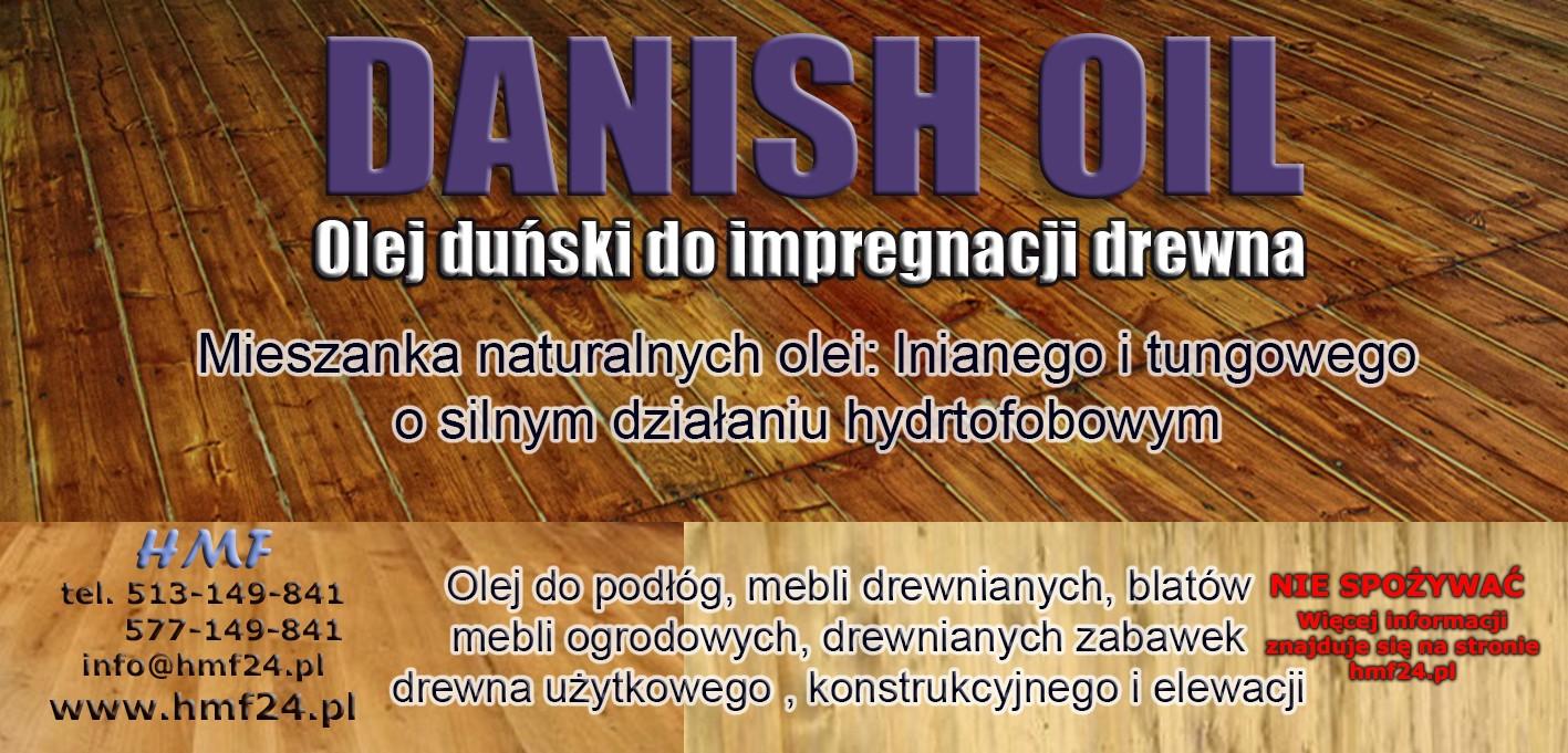 Danish Oil czyli olej duński od HMF.