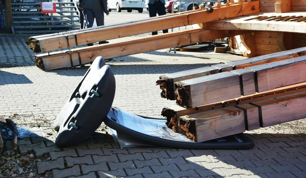 Tragedia w Białce Tatrzańskiej spowodowana nie zabezpieczonym drewnem?