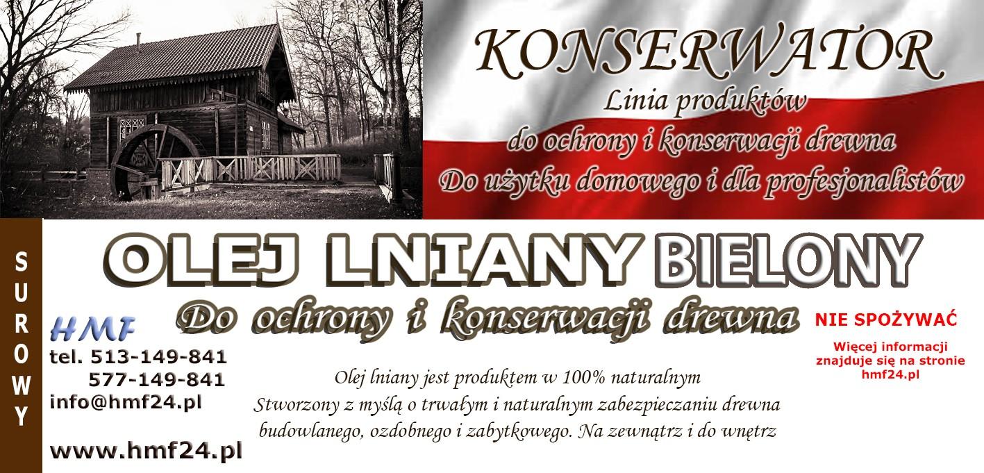 Impregnat olej bielony. Nowość od HMF24.pl